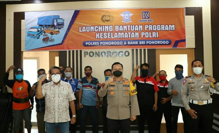 Photo of Satlantas Polres Ponorogo Melaunching Program Polri Peduli Keselamatan