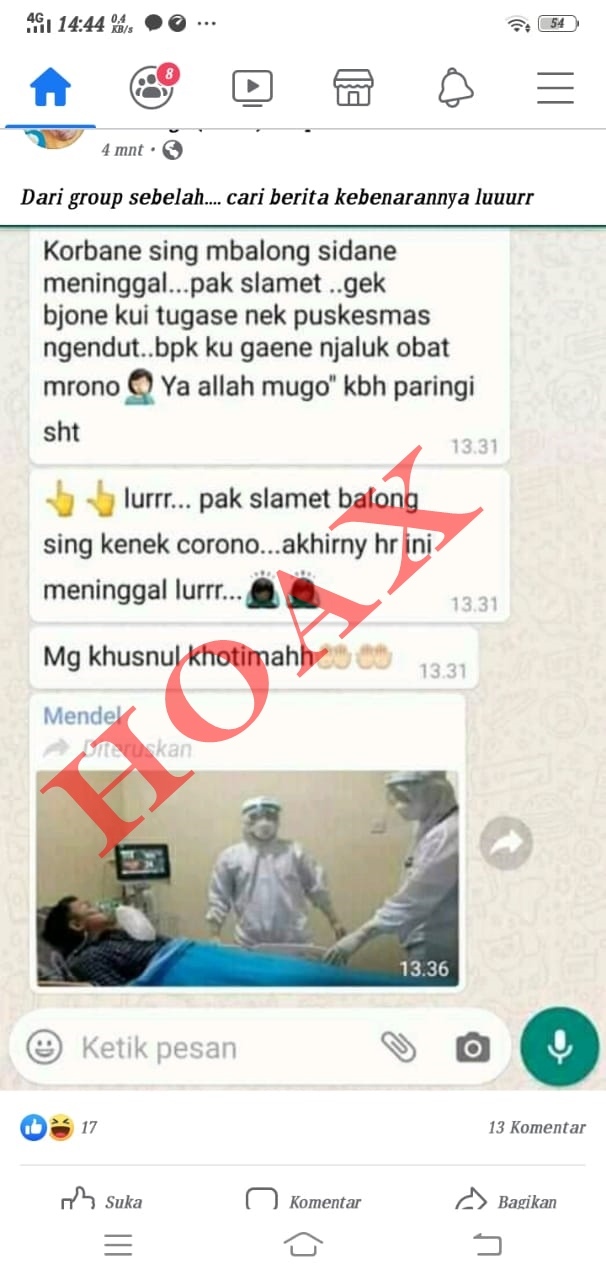 Photo of 3 Pasien Korona Sehat Sehat Saja, Satreskrim Minta Masyarakat Tak Sebar Hoak