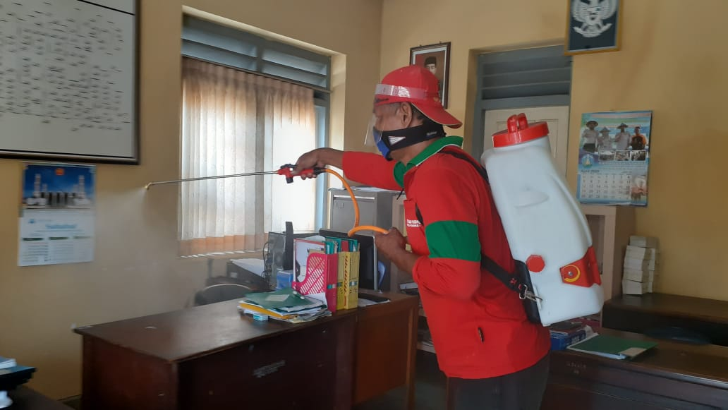 Photo of Kantor  UPT PUPR  Disterilisasi, Dinkes  Tracking Kontak Dekat  PDP Yang Meninggal