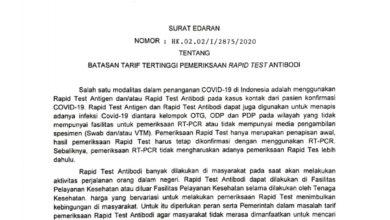 Photo of Harga Rapid Test Mahal, Ponorogo Belum Bisa Melaksanakan SE Kemenkes Soal Batas Atas Tarif Rapid Test