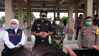 Photo of Kunjungi Gontor 2 Gubernur Kofifah Sampaikan Tangani Covid19 Harus Gotong Royong