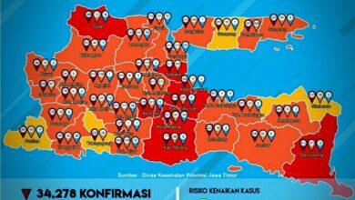 Photo of Ponorogo Kembali Zona Orange, Disiplin Tidak Boleh Kendor