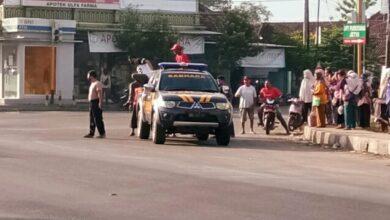 Photo of 2 Motor Tumburan Di Perempatan Jetis, Diduga Menerobos Lampu Merah