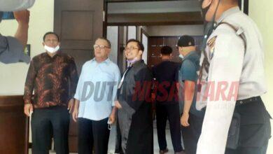 Photo of Majelis Hakim Puji Pidato Pesan Moral Terdakwa Beny Sulistianto