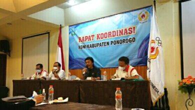 Photo of Ketua KONI Ponorogo Heru Sangoko : Target Kita Masuk 10 Besar Porprov Jatim 2022