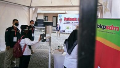 Photo of Hari Pertama Tes CASN Ponorogo, Pelaksanaan Dengan Prokes Ketat