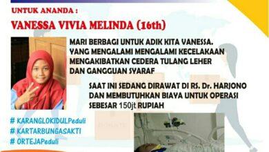 Photo of Para Pemuda Karanglo Kidul Mulai Galang Dana Untuk Vanesa